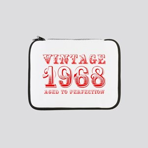 "VINTAGE 1968 aged to perfection-red 400 13"" Laptop"