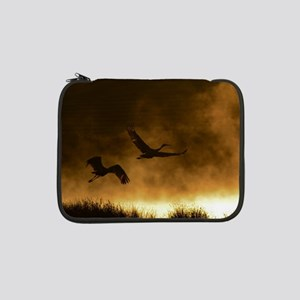 "Rising Cranes  13"" Laptop Sleeve"