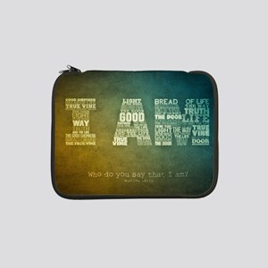 "I AM Word Art 13"" Laptop Sleeve"