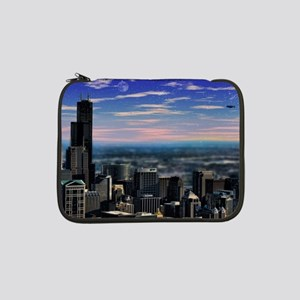 "Chicago Sunset 13"" Laptop Sleeve"