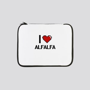 "I Love Alfalfa Digitial Design 13"" Laptop Sleeve"