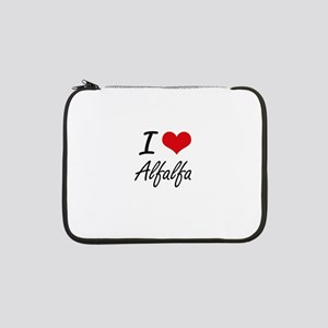 "I Love Alfalfa Artistic Design 13"" Laptop Sleeve"