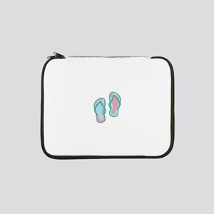 "Flip Flops 13"" Laptop Sleeve"