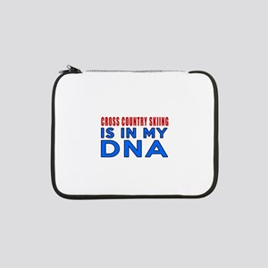 "Cross Country Skiing Is In My DN 13"" Laptop Sleeve"