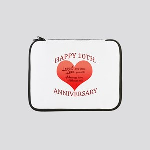 "10th. Anniversary 13"" Laptop Sleeve"