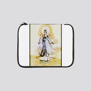 "Kuan-yin1-mug 13"" Laptop Sleeve"