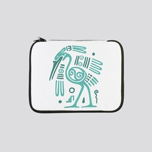 "Tribal Crane 13"" Laptop Sleeve"