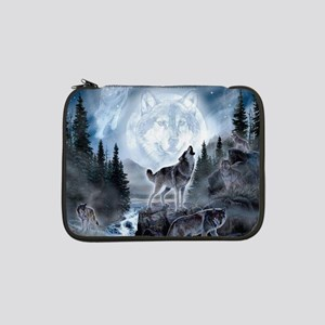 "spirit of the wolf 13"" Laptop Sleeve"