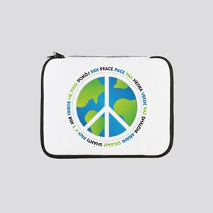 "World Peace Sign 13"" Laptop Sleeve"