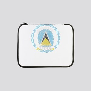 "St Lucia Its In My DNA 13"" Laptop Sleeve"