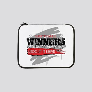 "Winners and Losers Softball 13"" Laptop Sleeve"