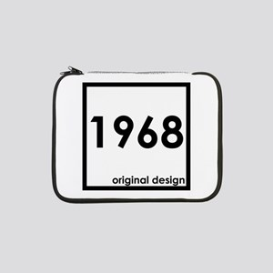 "1968 birthday original design ye 13"" Laptop Sleeve"