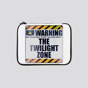 "Warning: The Twilight Zone 13"" Laptop Sleeve"