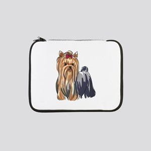 "YORKSHIRE TERRIERS 13"" Laptop Sleeve"