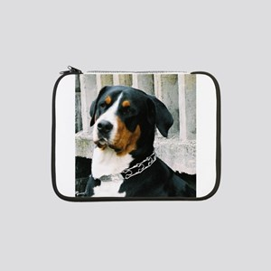"greater swiss mountain dog 13"" Laptop Sleeve"