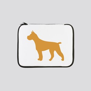 "Brown Pit Bull 13"" Laptop Sleeve"
