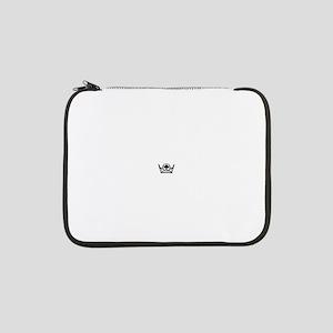 "Queen of Spades Crown 02 13"" Laptop Sleeve"