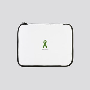 """Green: Fear Nothing 13"""" Laptop Sleeve"""
