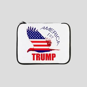 "Trump America First Eagle 13"" Laptop Sleeve"