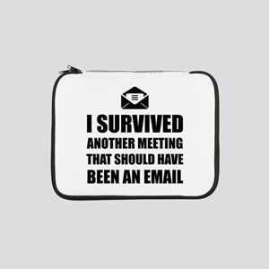 """Meeting Email 13"""" Laptop Sleeve"""