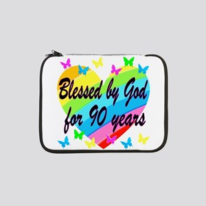 "90TH PRAYER 13"" Laptop Sleeve"