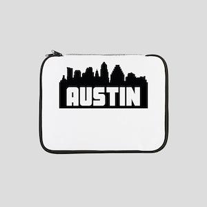 "Austin Texas Skyline 13"" Laptop Sleeve"