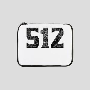 "512 Austin Area Code 13"" Laptop Sleeve"