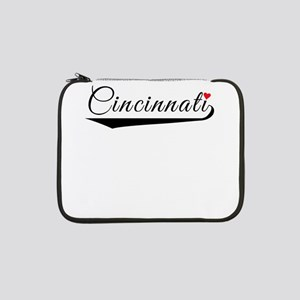 "Cincinnati Heart Logo 13"" Laptop Sleeve"