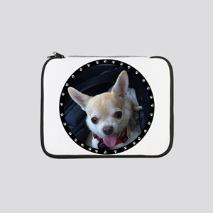 "Personalized Paw Print 13"" Laptop Sleeve"