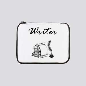"""Writer Books and Quill 13"""" Laptop Sleeve"""