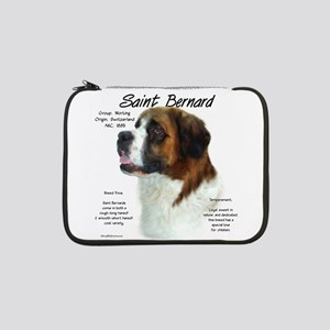 "Saint Bernard (Rough) 13"" Laptop Sleeve"