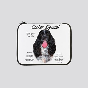 "Parti Cocker Spaniel 13"" Laptop Sleeve"