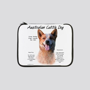 "Cattle Dog (red) 13"" Laptop Sleeve"