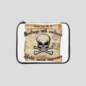 "Pirates Law #8 13"" Laptop Sleeve"