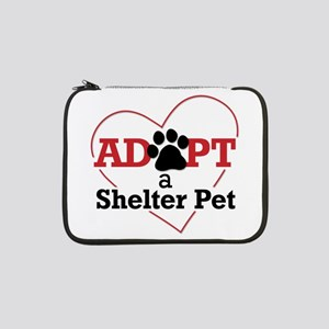 "Adopt a Shelter Pet 13"" Laptop Sleeve"