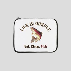 "Life is Simple 13"" Laptop Sleeve"