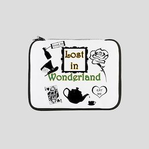 """Lost in Wonderland 13"""" Laptop Sleeve"""