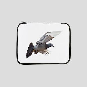 "pigeon fly to love joy peace 13"" Laptop Sleeve"