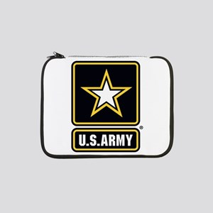 "U.S. Army Gold Star Logo 13"" Laptop Sleeve"