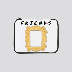 "Friends Peephole Frame 13"" Laptop Sleeve"