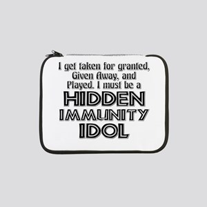 "Survivor: Hidden Immunity Idol 13"" Laptop Sleeve"