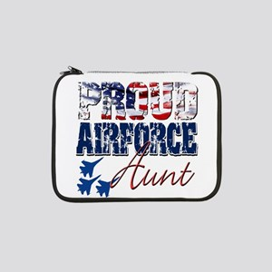 "ProudAirForceAunt 13"" Laptop Sleeve"