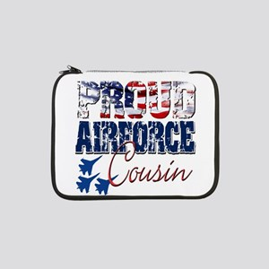 "ProudAirForceCousin 13"" Laptop Sleeve"