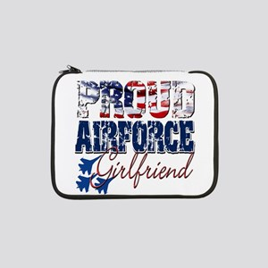 "ProudAirForceGirlfriend 13"" Laptop Sleeve"