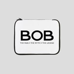 "BOB The Man The Myth The Legend 13"" Laptop Sleeve"