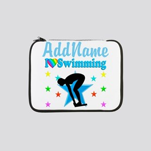 "SWIM TEAM 13"" Laptop Sleeve"