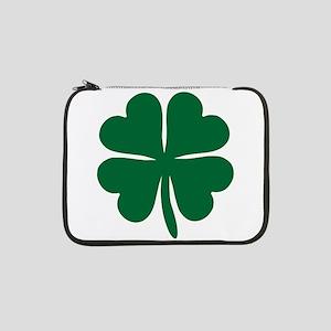 """Four Leaf Clover 13"""" Laptop Sleeve"""