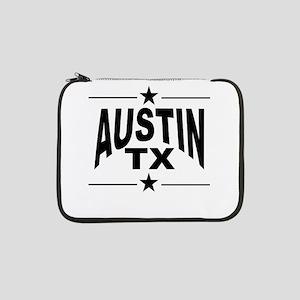 """Austin TX 13"""" Laptop Sleeve"""