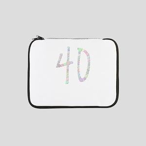 "40 (Candies) 13"" Laptop Sleeve"