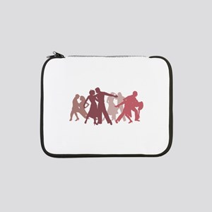 "Latin Dancers Illustration 13"" Laptop Sleeve"